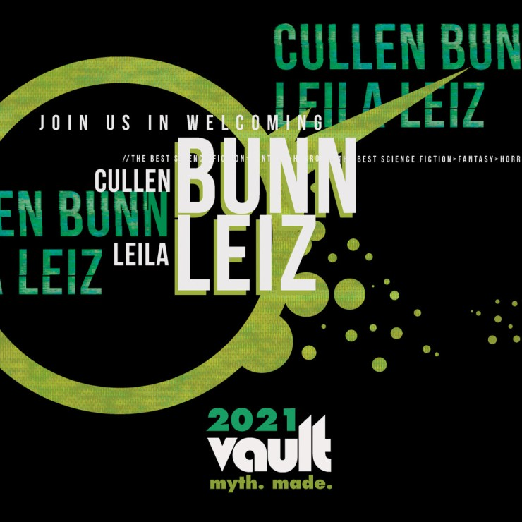 Cullen Bunn and Leila Leiz joining Vault Comics in 2021
