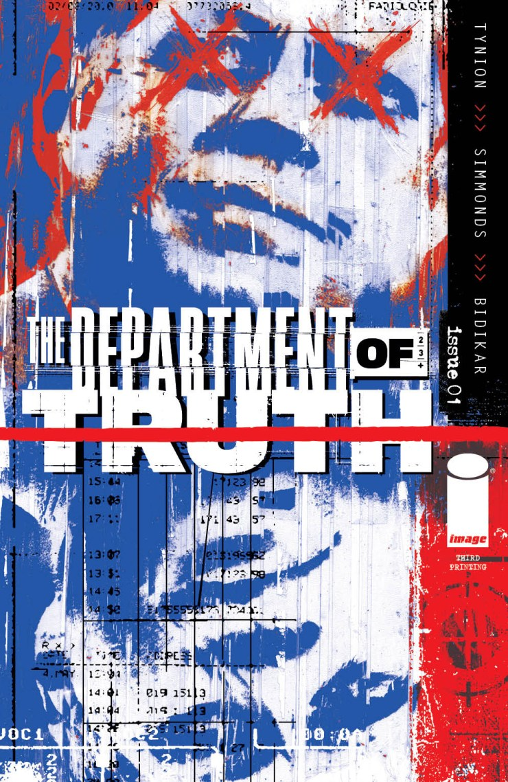 The Department of Truth 2nd printing