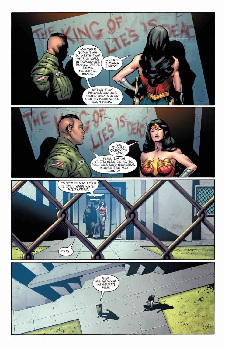DC Preview: Wonder Woman #768