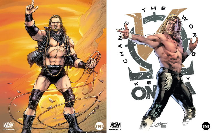 AEW is comic books