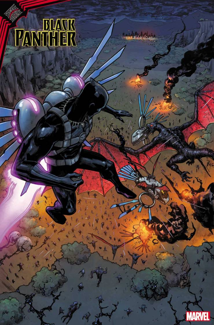 Marvel First Look: King in Black: Black Panther #1