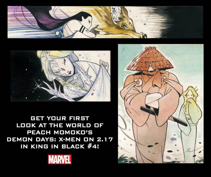 Peach Momoko Demon Days King in Black