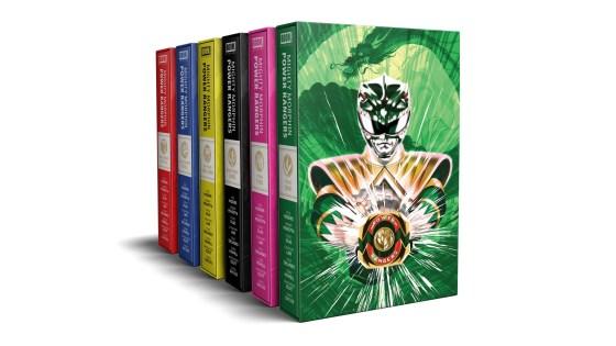 BOOM! Studios Kickstarting 6 'Mighty Morphin Power Rangers' deluxe hardcover set