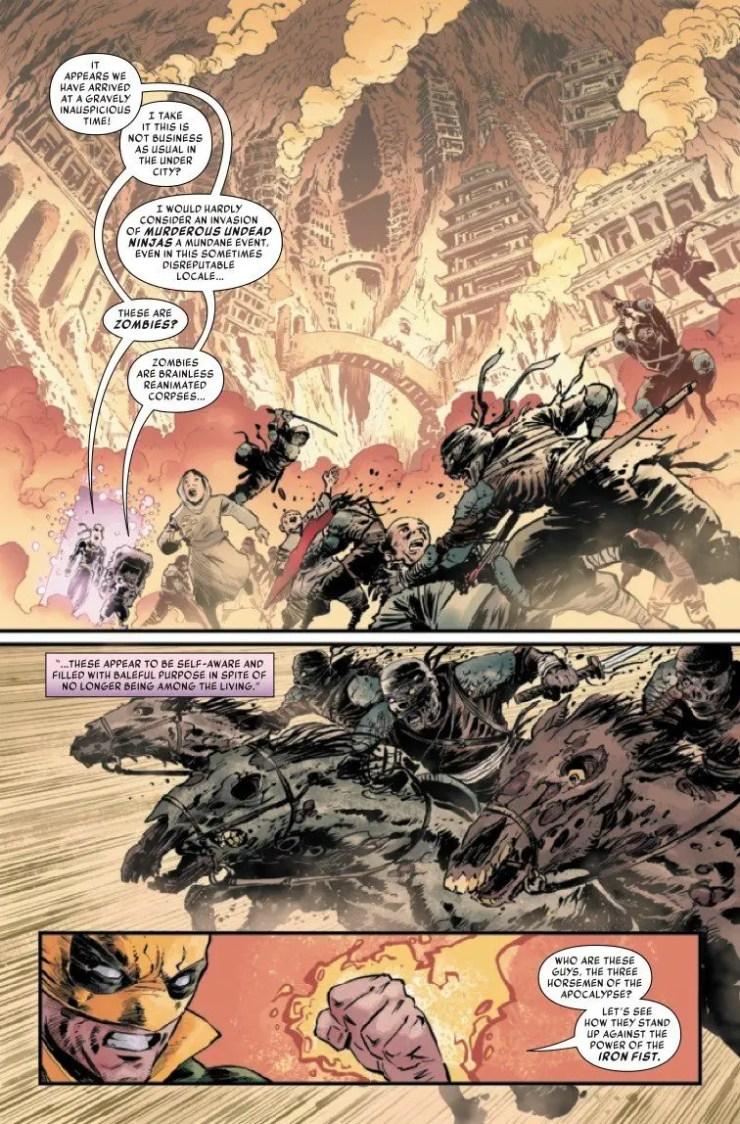 Iron Fist: Heart of the Dragon TPB