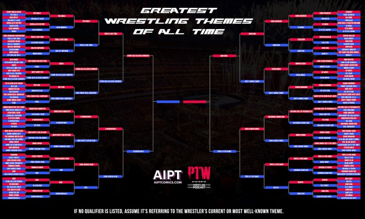 The Greatest Wrestling Themes of All Time: Round 5 results
