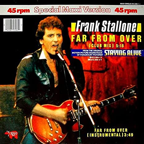 Frank Stallone interview: Competing on the world level