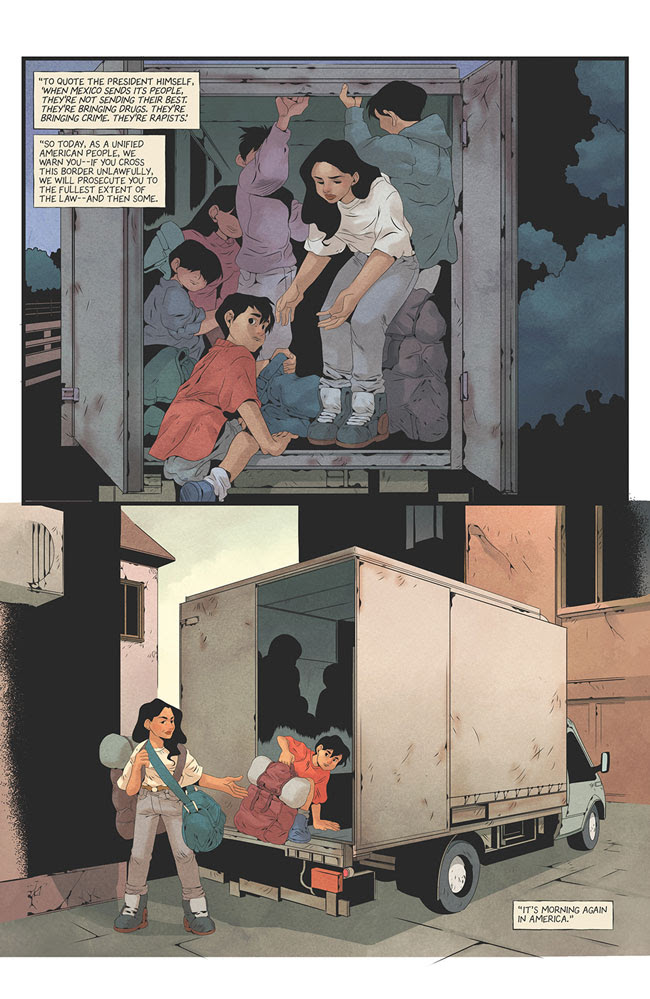 Image Comics announces migrant super powered series 'Home' miniseries