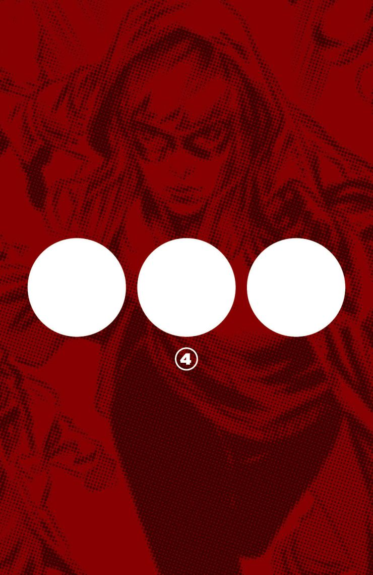 A new mystery character will join 'Crossover' in issue #4
