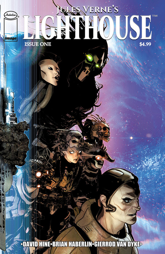 Image Comics launching 'Jules Verne's: Lighthouse' April 2021