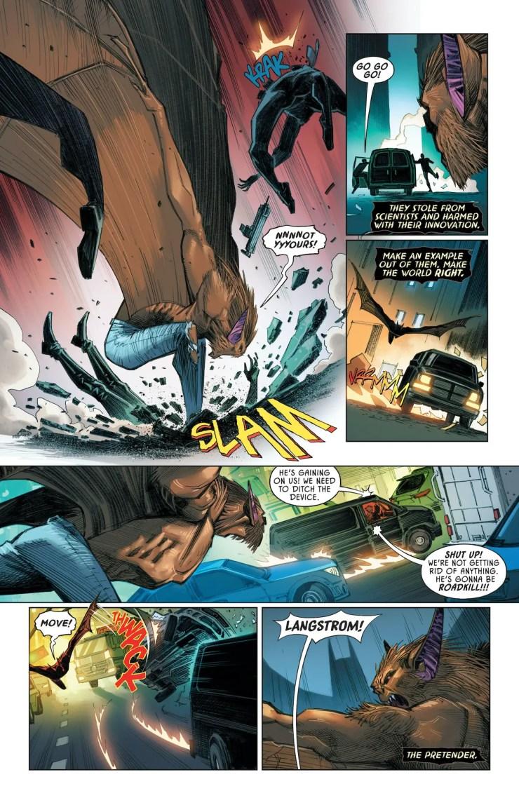 DC Preview: Man-Bat #1