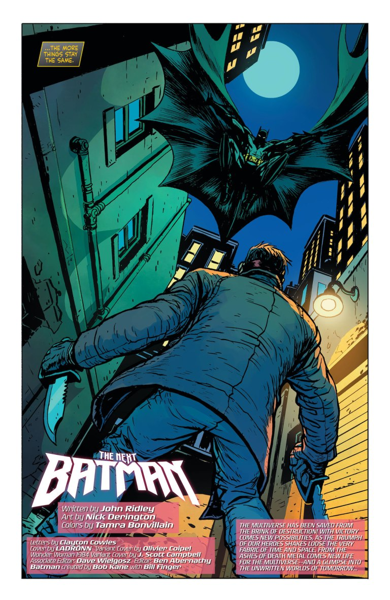 'Future State: The Next Batman' #1 review