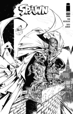 'Spawn' #315 acquire Björn Barends, Stephen Segovia, and 3 covers by Greg Capullo