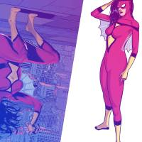 Marvel Comics and artist Pere Pérez unveil new spin on Spider-Woman costume