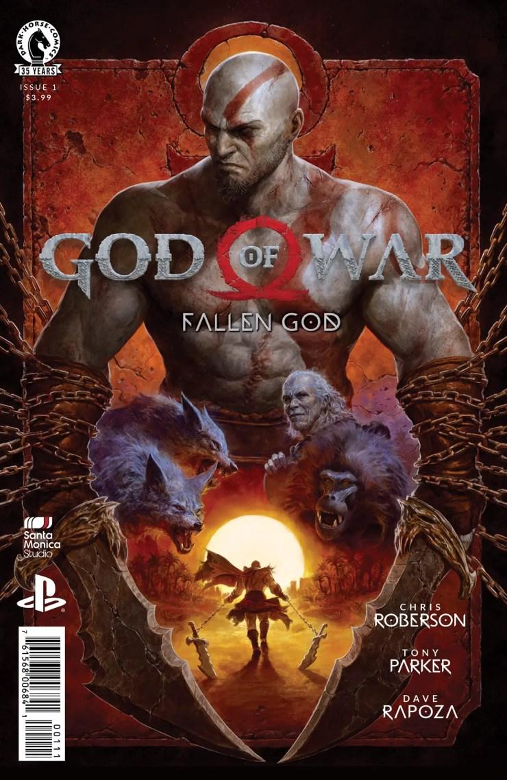 Dark Horse launching new 'God of War: Fallen God' March 10