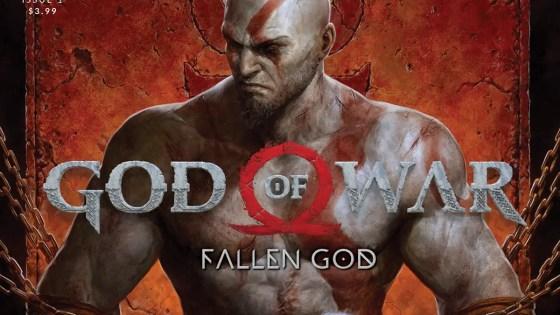 Dark Horse launching new series 'God of War: Fallen God' March 10