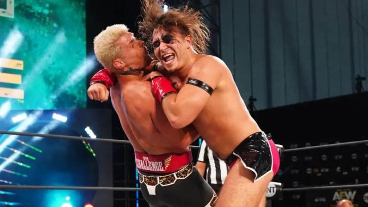 Cody Rhodes vs. WARHORSE on AEW Dynamite