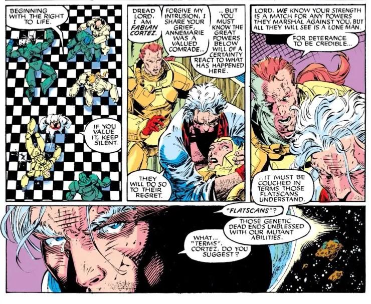 'S.W.O.R.D.' #2 reintroduces famous X-Men derogatory term for humans