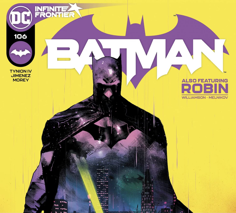 Batman 106 Cover by Jorge Jimenez