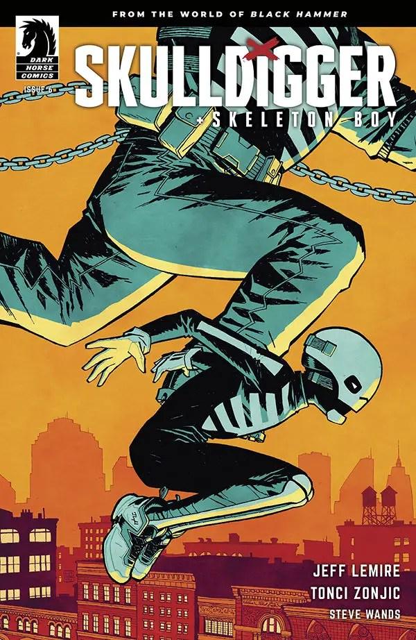 Skulldigger and Skeleton Boy #6 cliff chiang