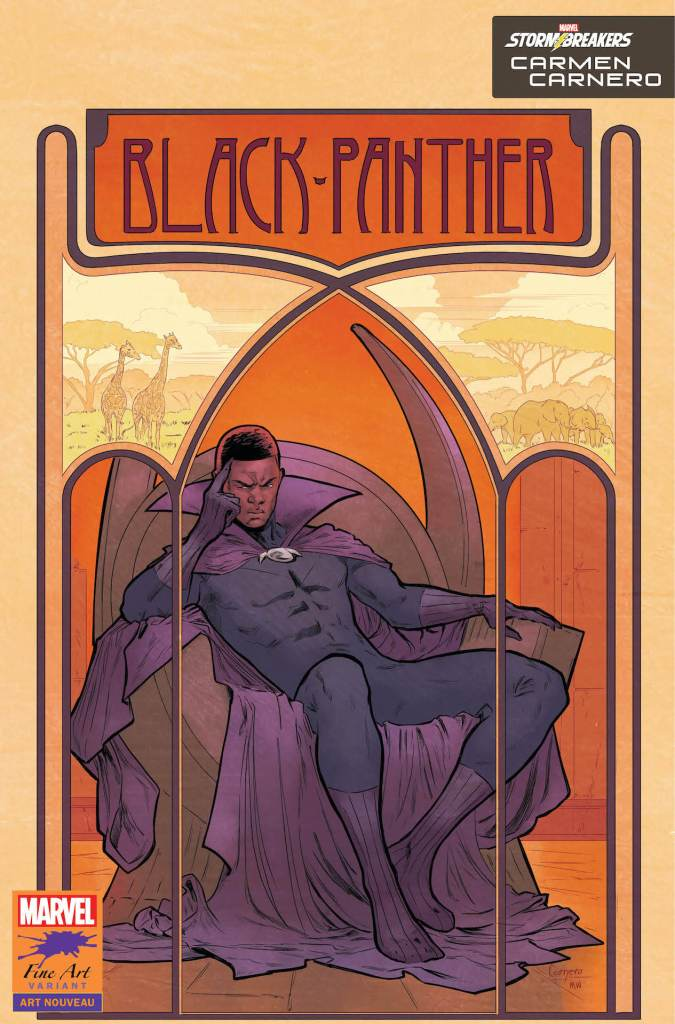 Marvel reveals 'Black Panther' #25 Stormbreakers covers