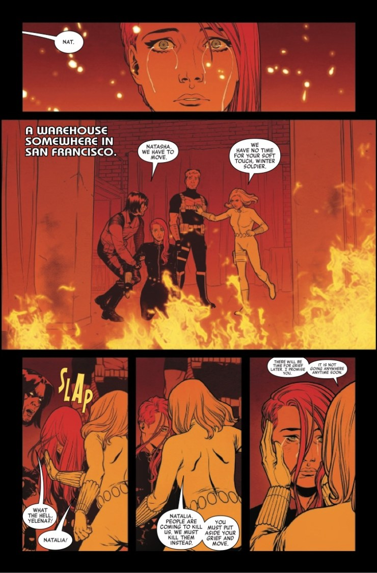 Marvel Preview: Black Widow #5