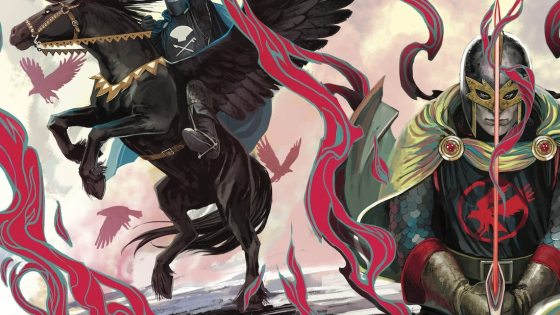 Marvel unveils Stephanie Hans 'Black Knight' connecting covers