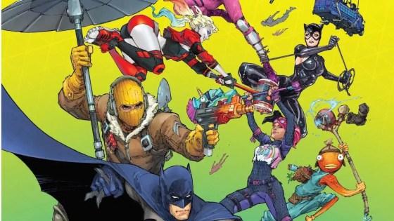 DC Comics and Epic Games publishing 'Batman/Fortnite: Zero Point' April 2021