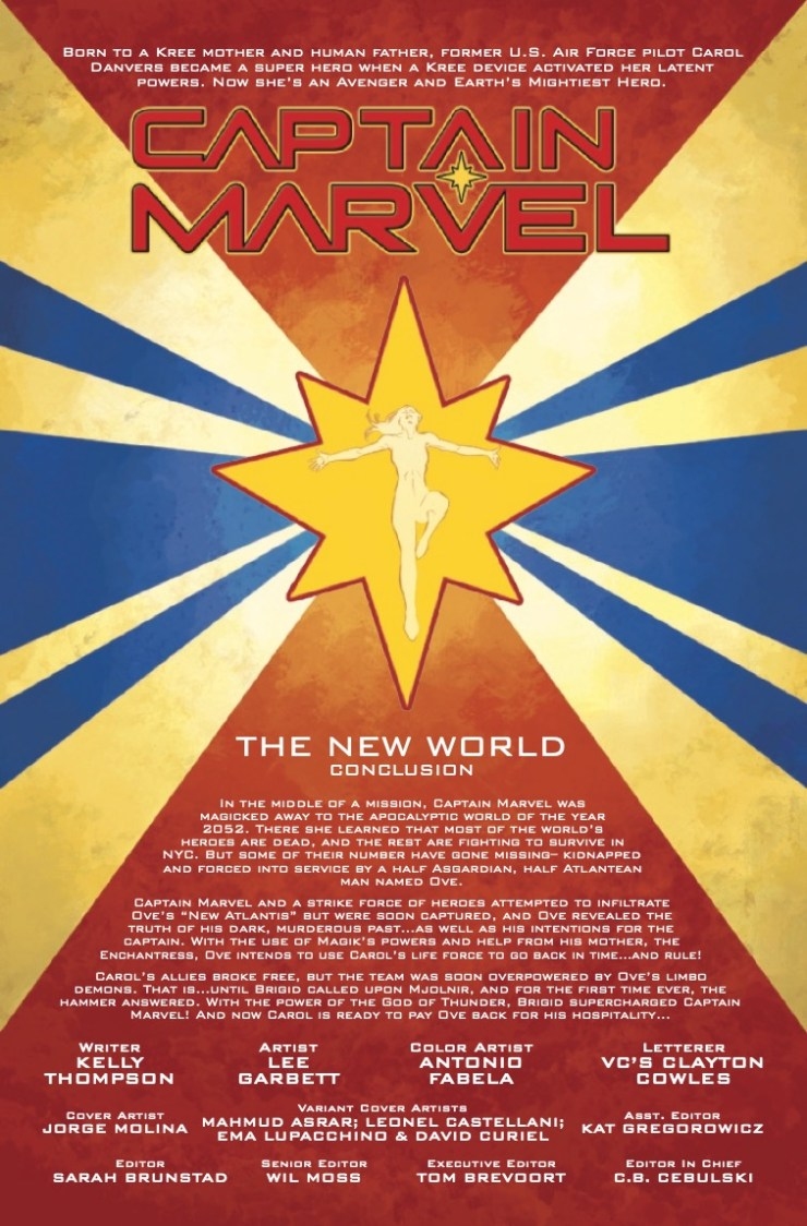 Marvel Preview: Captain Marvel #26