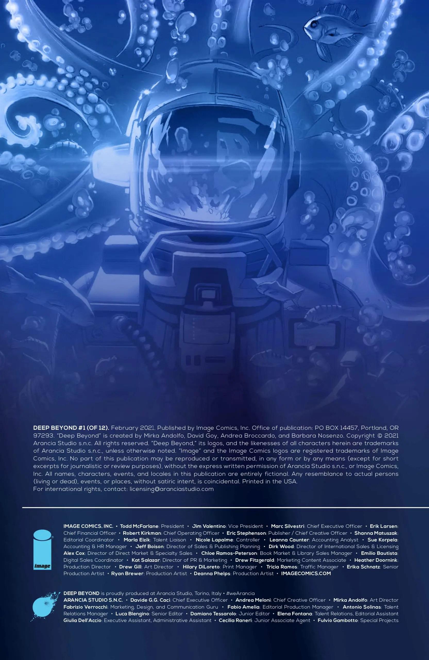 'Deep Beyond' #1 review