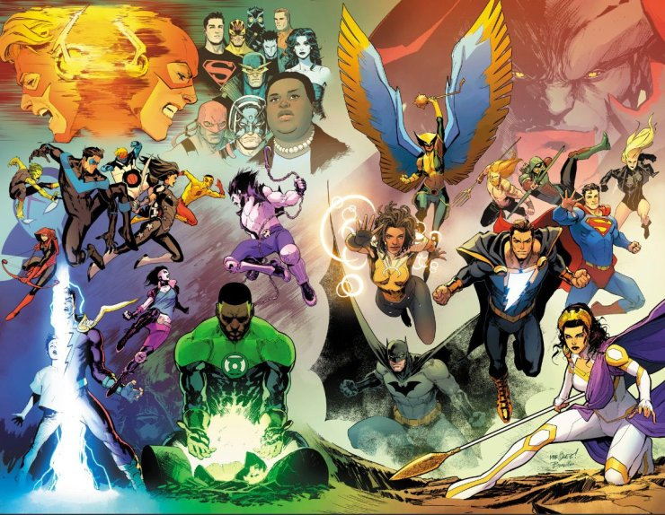 Justice League by David Marquez
