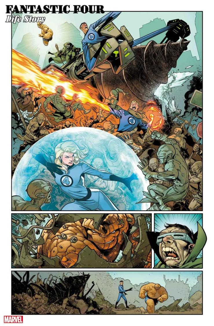 Marvel Comics launching 'Fantastic Four: Life Story'