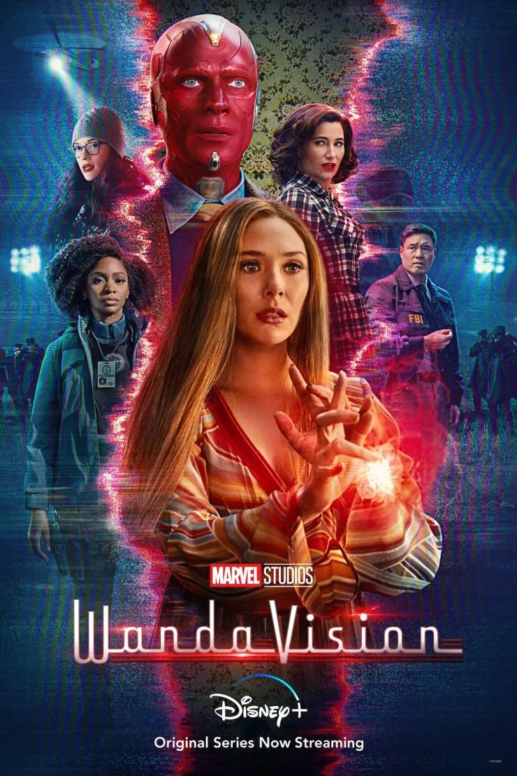 Wandavision poster 2021