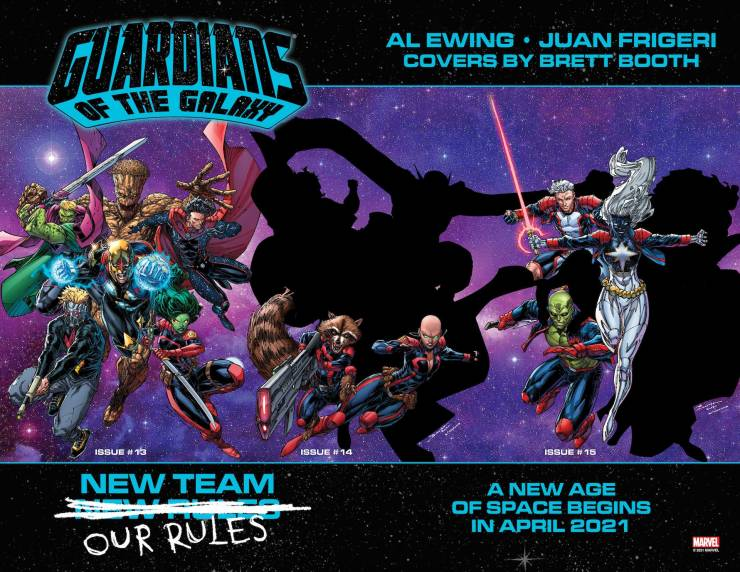 Marvel teases complete 'Guardians of the Galaxy' roster