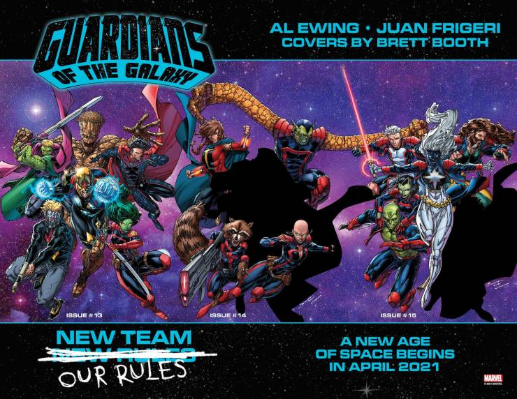 Marvel fills in gaps for 'Guardians of the Galaxy' lineup