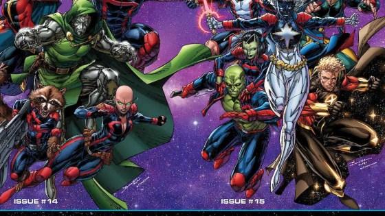 Marvel Comics reveals full Guardians of the Galaxy lineup