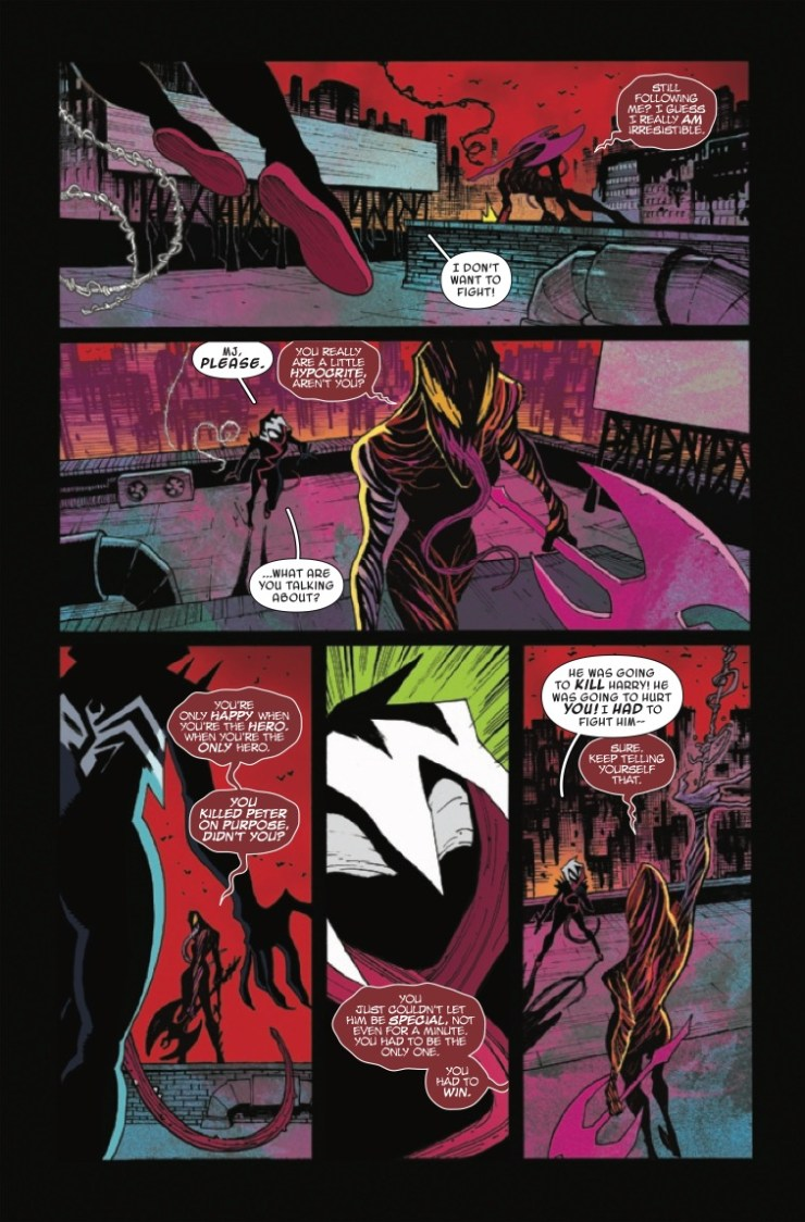 Marvel Preview: King in Black: Gwenom vs. Carnage #3
