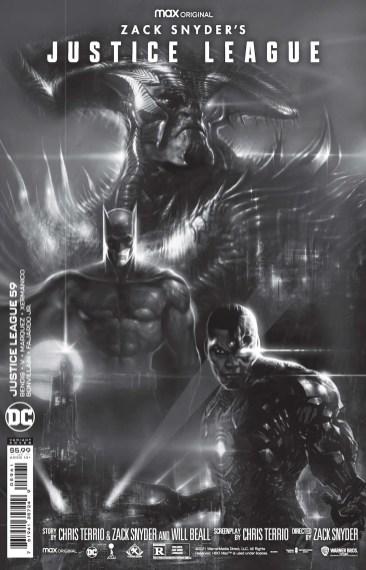 Snyder Cut cover art graces Bendis/Marquez 'Justice League'