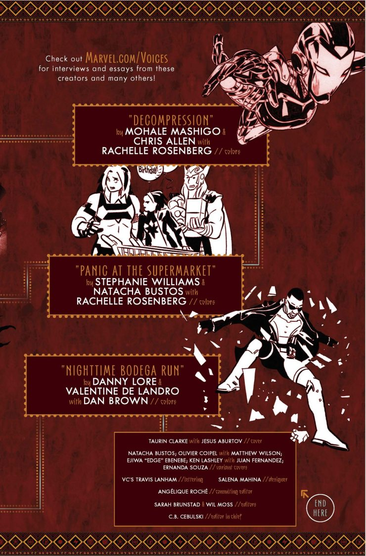 Marvel Preview: Marvel's Voices: Legacy #1