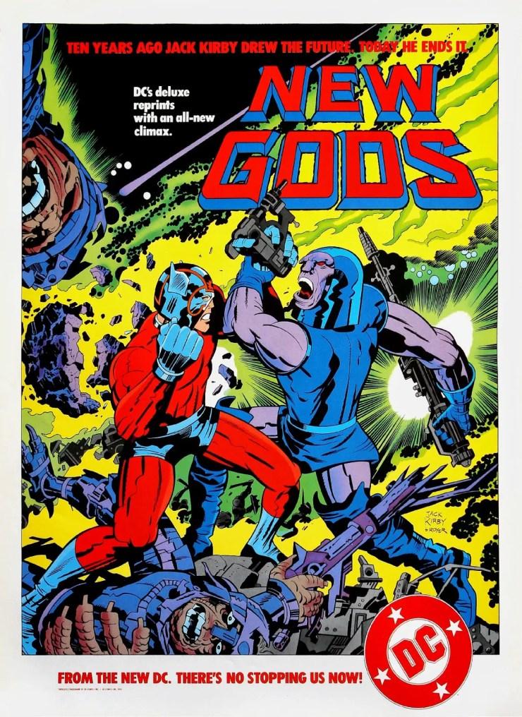 Jack Kirby New Gods, King Kirby
