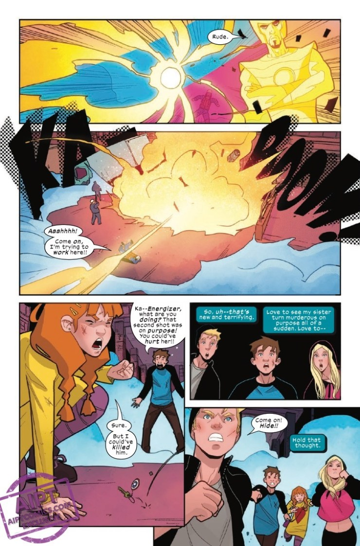 EXCLUSIVE Marvel Preview: Power Pack #4