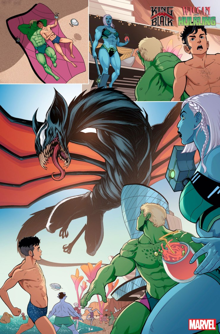 Marvel First Look: King In Black: Wiccan And Hulkling #1