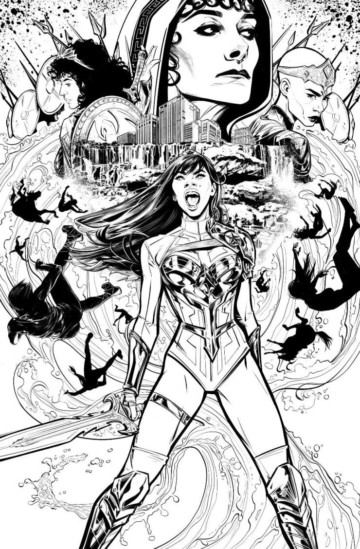 Wonder Woman aka Yara Flor's adventures continue in 'Wonder Girl' #1