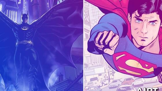 DC Comics celebrating Superman '78 and Batman '89 with new series