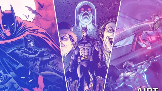 DC Comics relaunching 'Legends of the Dark Knight' April 2nd