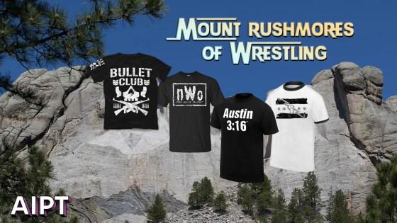 Mt. Rushmores of Wrestling: Merchandise