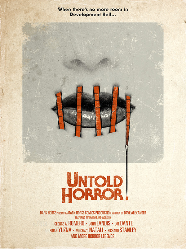 Dark Horse Comics publishing 'Untold Horror' from horror legends