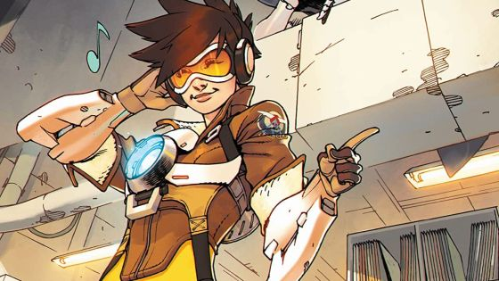 Dark Horse sets September for 'Overwatch: Tracer—London Calling' hardcover