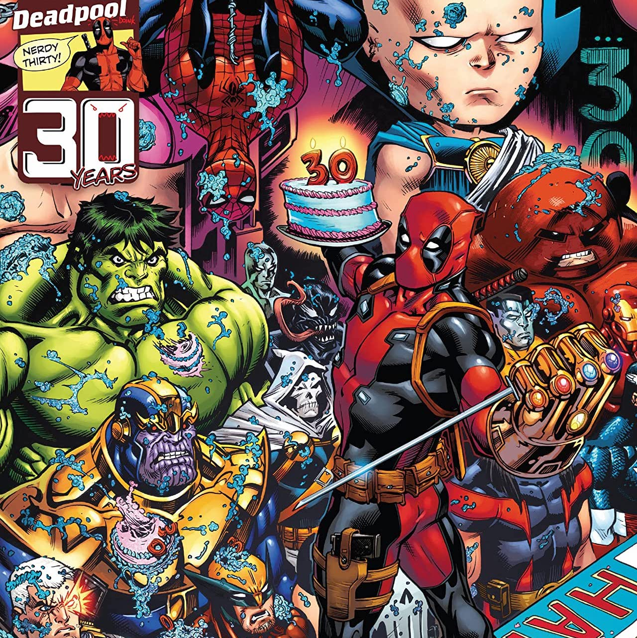 'Deadpool Nerdy 30' celebrates three decades of the Merc With a Mouth