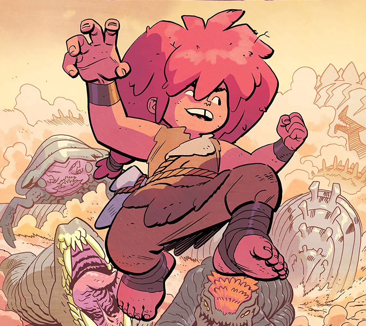'Jonna and the Unpossible Monsters' #1 serves epic scale and mystery