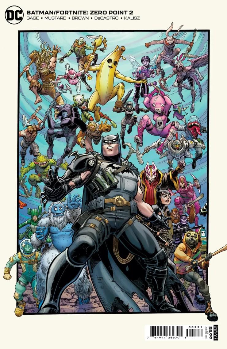 DC First Look: Batman/Fortnite: Zero Point #2